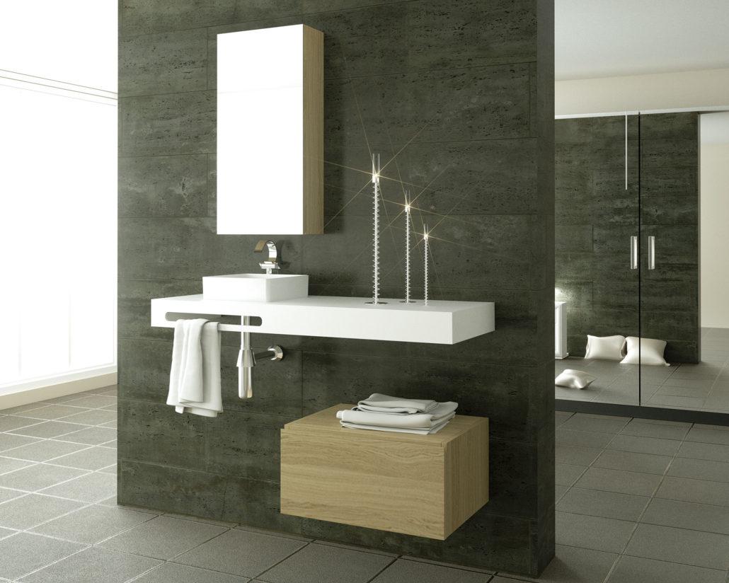 Muebles de ba o materiales de construcci n santiago castilla - Materiales de bano ...